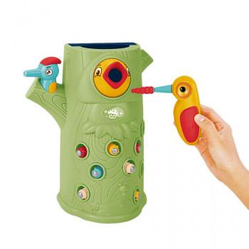 Игра магнитная Limo Toy Накорми птенца Дятел со световыми и звуковыми эффектами 0016