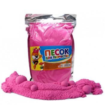 Кинетический песок розовый, 0,5 кг МК0469