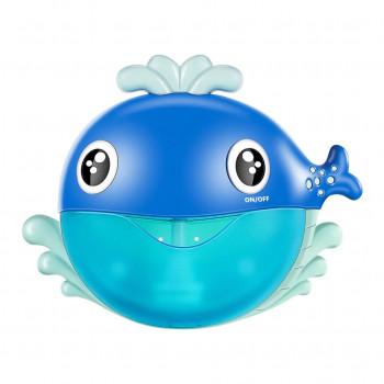 Игра для ванной Установка для мыльных пузырей Кит, музыкальная MD31443