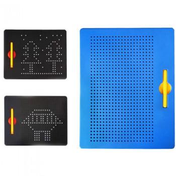 Досточка магнитная синяя SM714