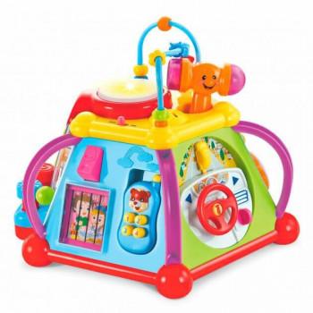 Развивающая игрушка Мультицентр Limo Toy с музыкальными и световыми эффектами, Красный DT806