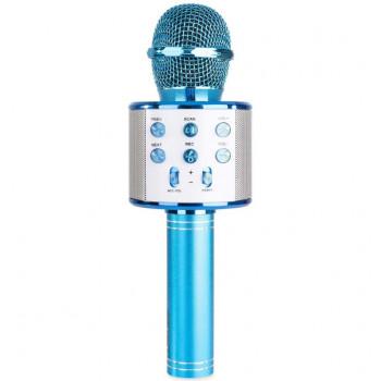 Микрофон S858 Голубой