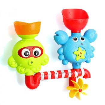 Игрушечный Водопад для детей Глазки, Краб и осьминог RT87010